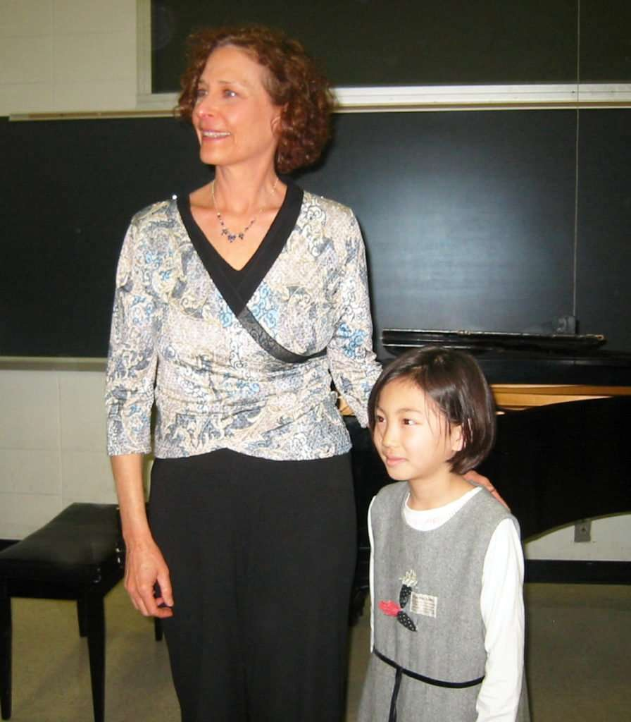 Mary Greenberg teaches piano lessons in Princeton NJ to students at all levels.