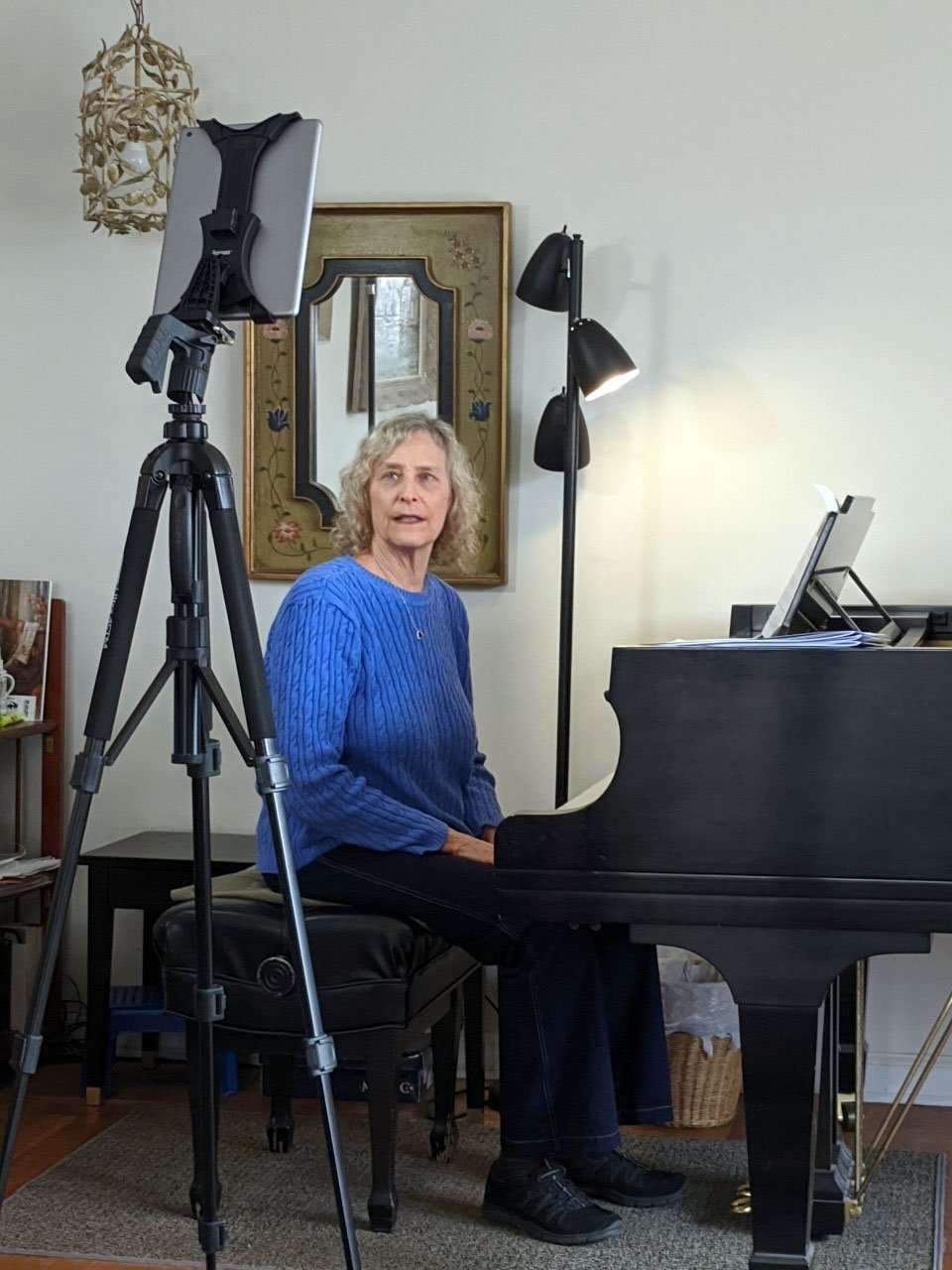 Mary Greenberg Teaches Remote Piano Lessons from Princeton New Jersey